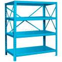 """Pucel™ Shelf, 42""""W x 18""""D, 14 Gauge, Light Blue"""