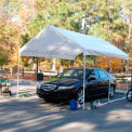 King Canopy Universal™ Canopy C81013PC, 13'L x 10'W, White
