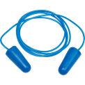 Corded Metal Detectable Disposable Earplugs -100 Pairs/Box