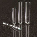 Qorpak 235309 Clear Borosilicate Glass Test Tubes, 10 x 75mm, 3mL, Case of 1000