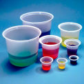 Qorpak 235339 Disposable Polystyrene Beakers, 50mL, Translucent, Case of 500