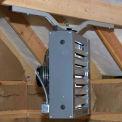 "Quick-Sling HVAC Swivel Flush Mount With I-Bracket QSWI4000 - 22""L x 35-1/4""W"