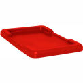 Red Lid For Cross Stack And Nest Tote TUB2516-8 - Pkg Qty 6