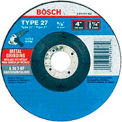 Bosch GW27M450, 4-1/2 X 1/4 X 7/8 Type 27 Grinding Wheel A30T-Bf For Metal