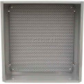 """RIB® Sub-Panel SP4404L, MH4400, Perforated Steel, 16.875""""H x 15.75""""W x .25"""" Thick"""