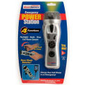 Ready America® 4-Function Emergency Power Station, 70801, Silver