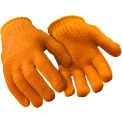 Standard Honeycomb Grip Glove, Orange - Large