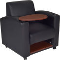Regency Collaboration Lounge Chair with Tablet Arm - Black