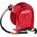 "Reelcraft 4625 OLPSW5 3/8""x25' 125 PSI Spring Retractable Pre-Rinse Hose Reel"