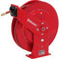 "Reelcraft 7670 OLP 3/8""x70' 300 PSI Heavy Duty Spring Retractable Low Pressure Hose Reel"