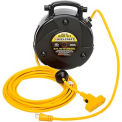 Reelcraft LG3040 123 9 12 AWG / 3 Cond  x 40ft, 15 AMP, Triple Outlet, with Cord
