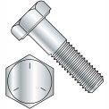 1/4-20 X 5/8 Hex Head Cap Screw - Grade 5 - High Carbon Steel - Zinc - Pkg Of 100