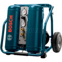 "BOSCH CET4-20W, Compressor, 4 Gallon Angled Tank 2 HP (""Wheeled Twin"")"