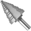 "BOSCH® High Speed Steel Step Drill Bit, SDH10, 1/4"" - 1-3/8"" Diameter, Self Starting"