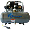 California Air Tools Portable Air Compressor CAT-1610A, Ultra Quiet & Oil Free, 110V, 1HP, 1.6 Gal