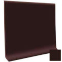 "Cove Base Vinyl 4""X1/8""X48"" - Brown"