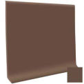 "Cove Base Vinyl 4""X1/8""X48"" - Light Brown"