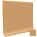 "Cove Base Vinyl 4""X1/8""X48"" - Flax"
