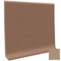 "Cove Base Pinnacle Rubber 4""X1/8""X48"" - Sandstone"