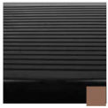 "Stair Tread Rubber Square Nose 42""L - Toffee"