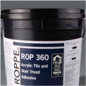 Stair Tread/ Tile Adhesive, Rubber - 4 Gallon