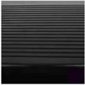 """Stair Tread Rubber Round Nose 48""""L - Black"""