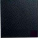 Rubber Tile Slate Design 50cm - Black