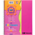 "Roaring Spring Extremes Notebook - 1 Subject, 11"" x 9"", White, 100 Sheets/Pad, 12 Pads/Pack"