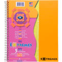 "Roaring Spring Extremes Notebook - 5 Subject, 11"" x 9"", White, 200 Sheets/Pad, 12 Pads/Pack"