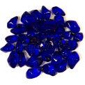 "Hiland Fire Glass GLASS-ROYBLU 3/4"" Dia. Smooth Royal Blue 10 Lbs"