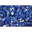 """Hiland Fire Glass RFGLASS-CBLT 1/4"""" to 1/2"""" Dia. Reflective Cobalt Blue 10 Lbs"""