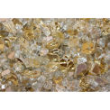 "Hiland Fire Glass RFGLASS-GOLD 1/4"" to 1/2"" Dia. Reflective Gold 10 Lbs"