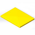 Lid for 6 Bushel cart- Yellow color