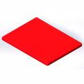 Lid for 6 Bushel cart-  Red color