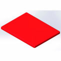 Lid for 10 Bushel cart-  Red color