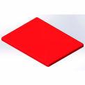 Lid for 18 Bushel cart-  Red color