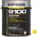 Rust-Oleum 9100 System <340 VOC DTM Epoxy Mastic, Safety Yellow Gallon Can - 9144402 - Pkg Qty 2