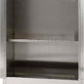"Stainless Steel Adjustable Shelf, 35-7/8""W x 22""D x 1""H"