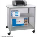 Safco® Products 1858GR Impromptu™ Deluxe Machine Stand - Gray