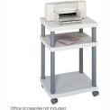 Safco® Products 1860GR Wave Desk Side Printer Stand