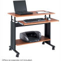"""Safco® 1926CY Muv™ 35"""" Adjustable Height Workstation - Cherry"""