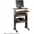 Muv™ Stand-up Adjustable Height Workstation - Cherry
