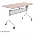 "Base for 60""W / 72""W Impromptu™ Table - Silver (Table Top Sold Separately)"