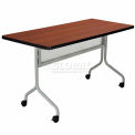 Impromptu Mobile Training Table 48 x 24 Rectangle Cherry