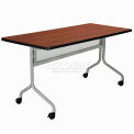 Impromptu Mobile Training Table 72 x 24 Rectangle Cherry