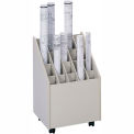 Mobile Roll File - 20 Compartment