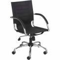 Flaunt™ Managers Chair Micro Fiber - Black