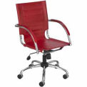Flaunt™ Managers Chair Leather - Red