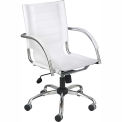 Flaunt™ Managers Chair Leather - White