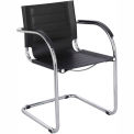 Flaunt™ Guest Chair Leather - Black